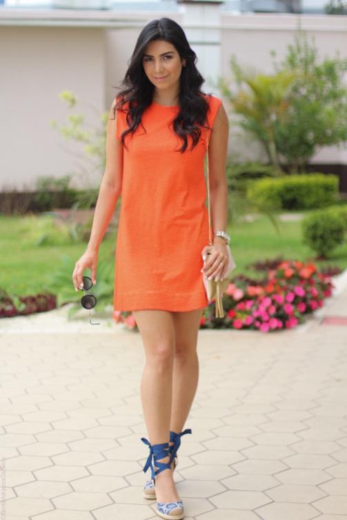 look laranja, jessica flores, borboletas na carteira